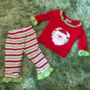 Cute Christmas Two Piece Outfit